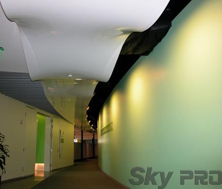 Натяжные потолки 3D эффекты