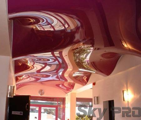Трехмерные 3D натяжные потолки